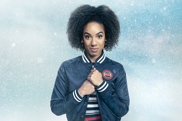 Pearl Mackie as Bill Potts in Doctor Who