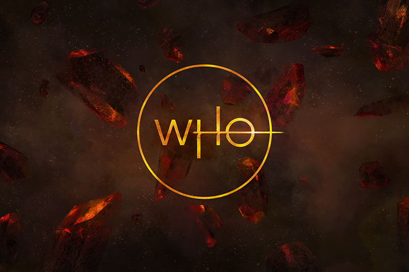 Jodie Whittaker reveals the brand new Doctor Who logo