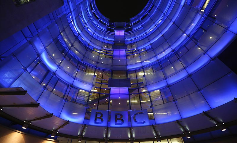 The BBC headquarters at New Broadcasting House (Getty, HF)