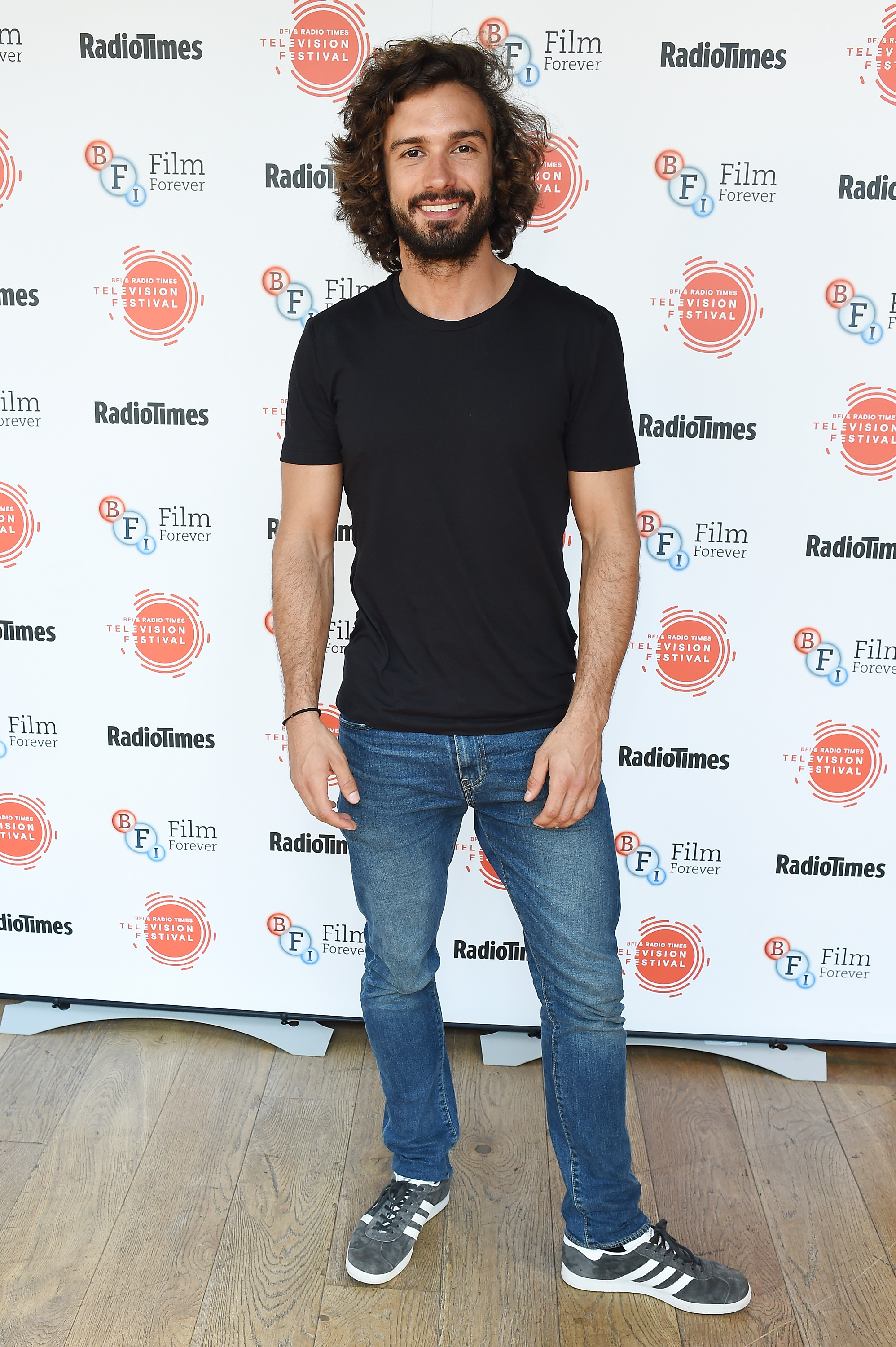 LONDON, ENGLAND - APRIL 08: Joe Wicks attends the BFI & Radio Times TV Festival at BFI Southbank on April 8, 2017 in London, England. (Photo by Tabatha Fireman/Getty Images) Getty, RT