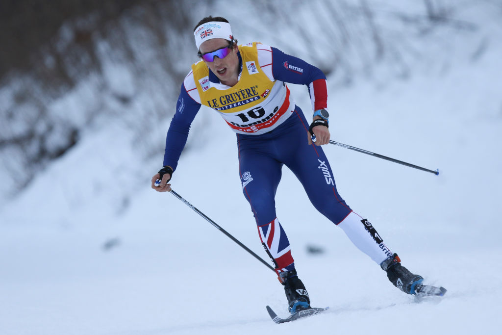 6th January 2018, Val di Fiemme, Fiemme Valley, Italy; FIS Cross Country World Cup, Mens 15km C Mst; Andrew Musgrave (GBR) (Photo by Pierre Teyssot/Action Plus via Getty Images, BA)