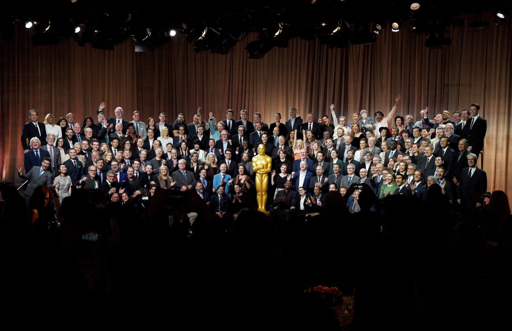 Oscars nominees convene for annual photo at luncheon