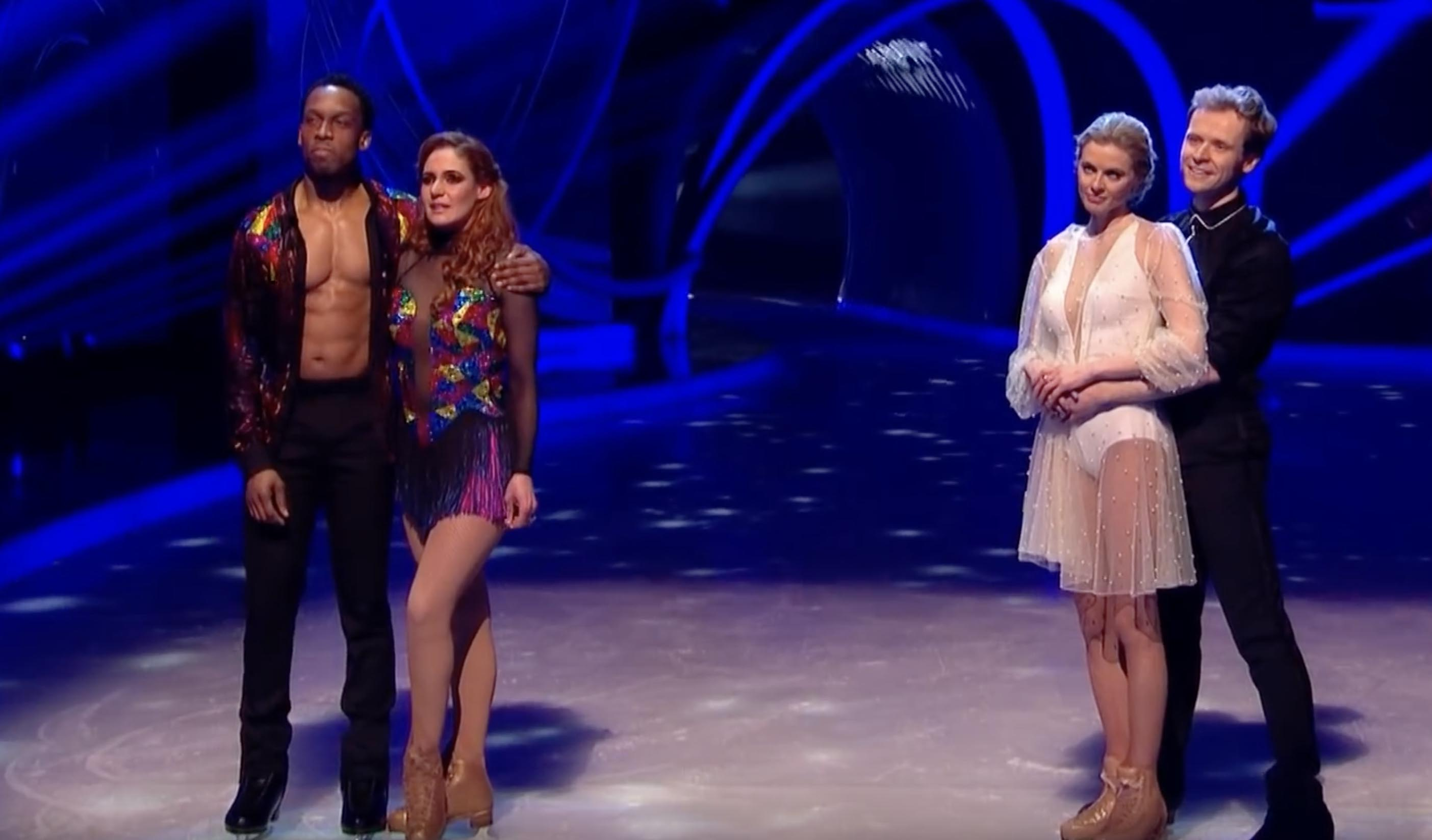 Lamar and Donna Air on Dancing on Ice