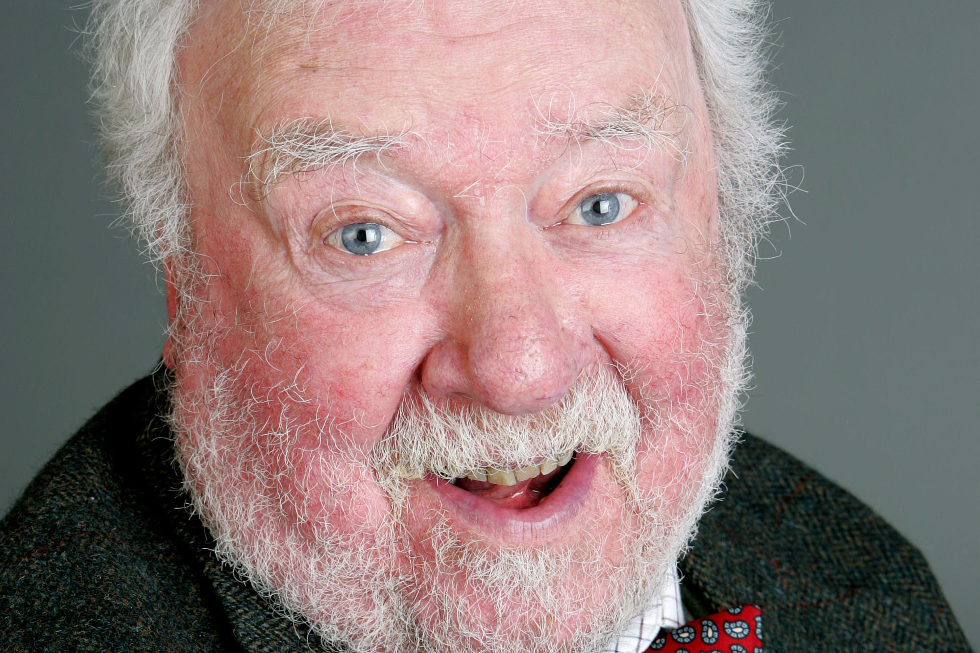 Freddie Jones as Sandy Thomas in Emmerdale (ITV Pictures, JG)