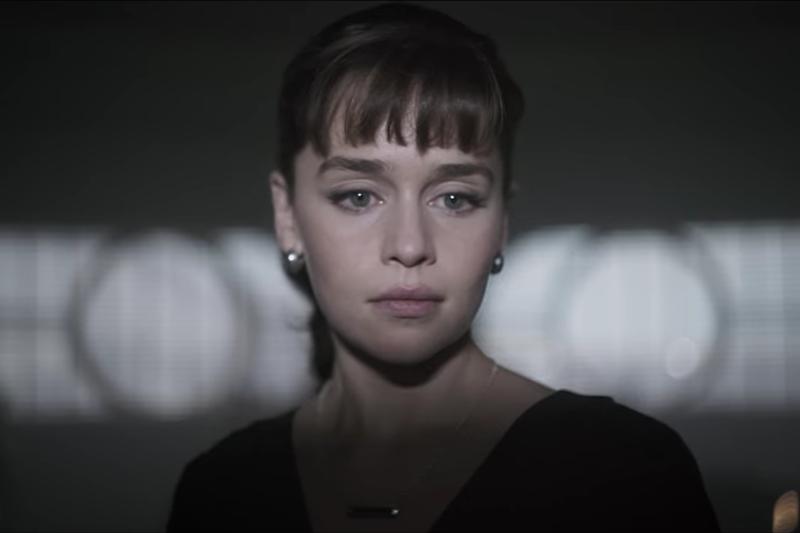 Emilia Clarke in Solo: A Star Wars story (Lucasfilm, HF)