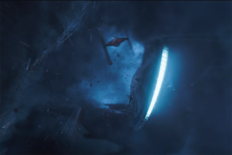 The Millennium Falcon in Solo: A Star Wars story (Lucasfilm, HF)