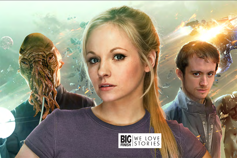 Georgia Tennant, Sean Biggerstaff and an Ood in Jenny: The Doctor's Daughter