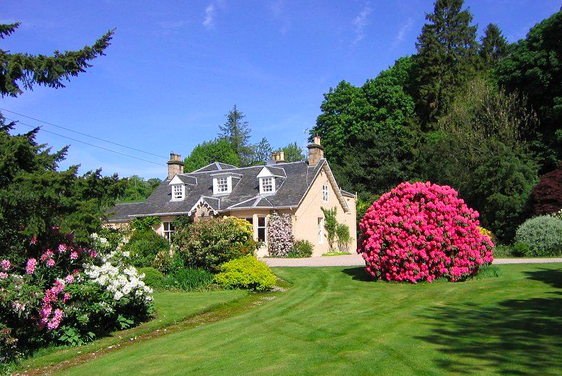 Finglen House, Campsie Glen