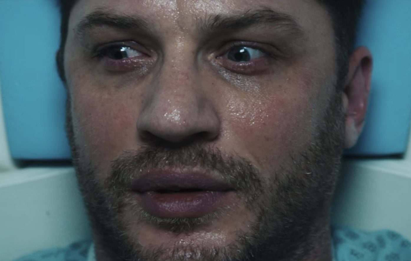 Tom Hardy wrestles with his demons in first teaser for 'Venom'