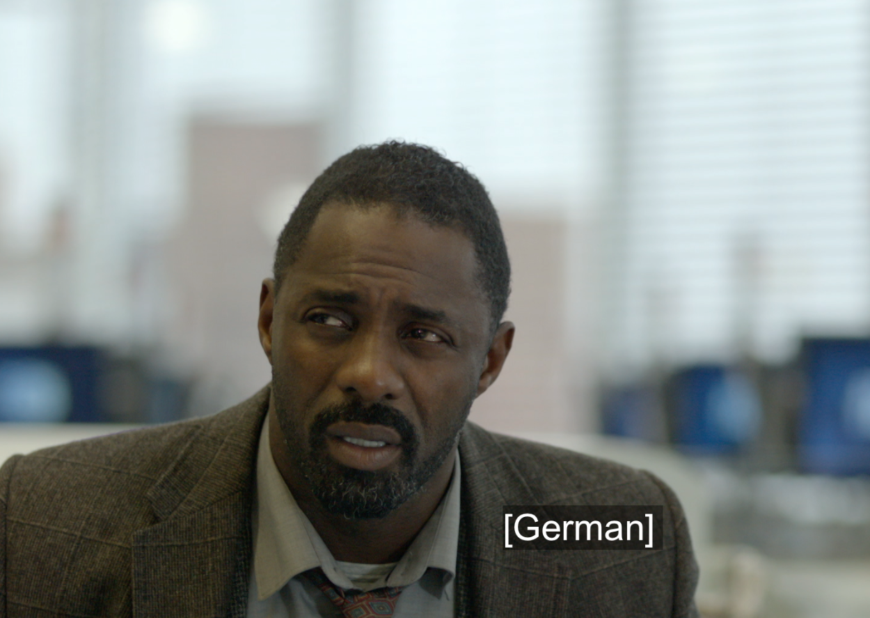 Idris Elba as Luther
