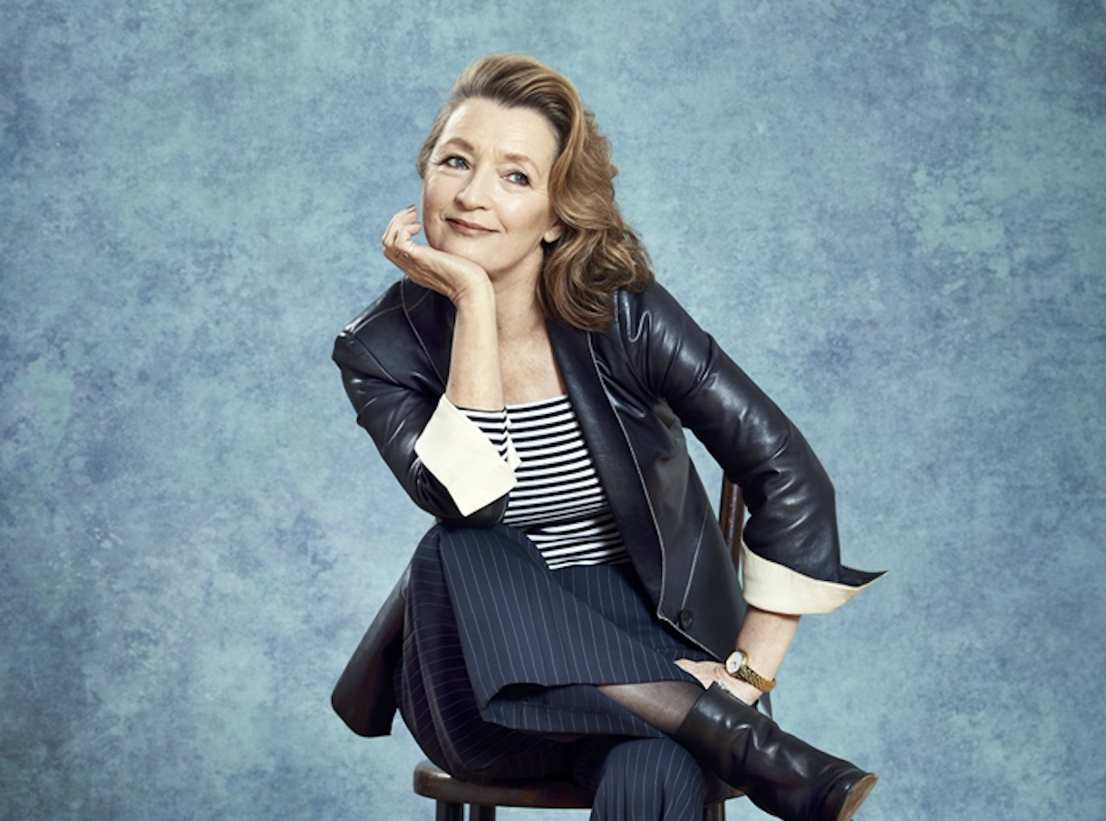 Lesley Manville (RT shoot by Mark Harrison, EH)
