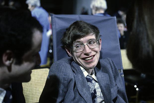 Stephen Hawking in 1979