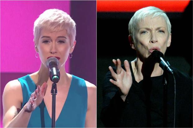 SuRie Eurovision Annie Lennox