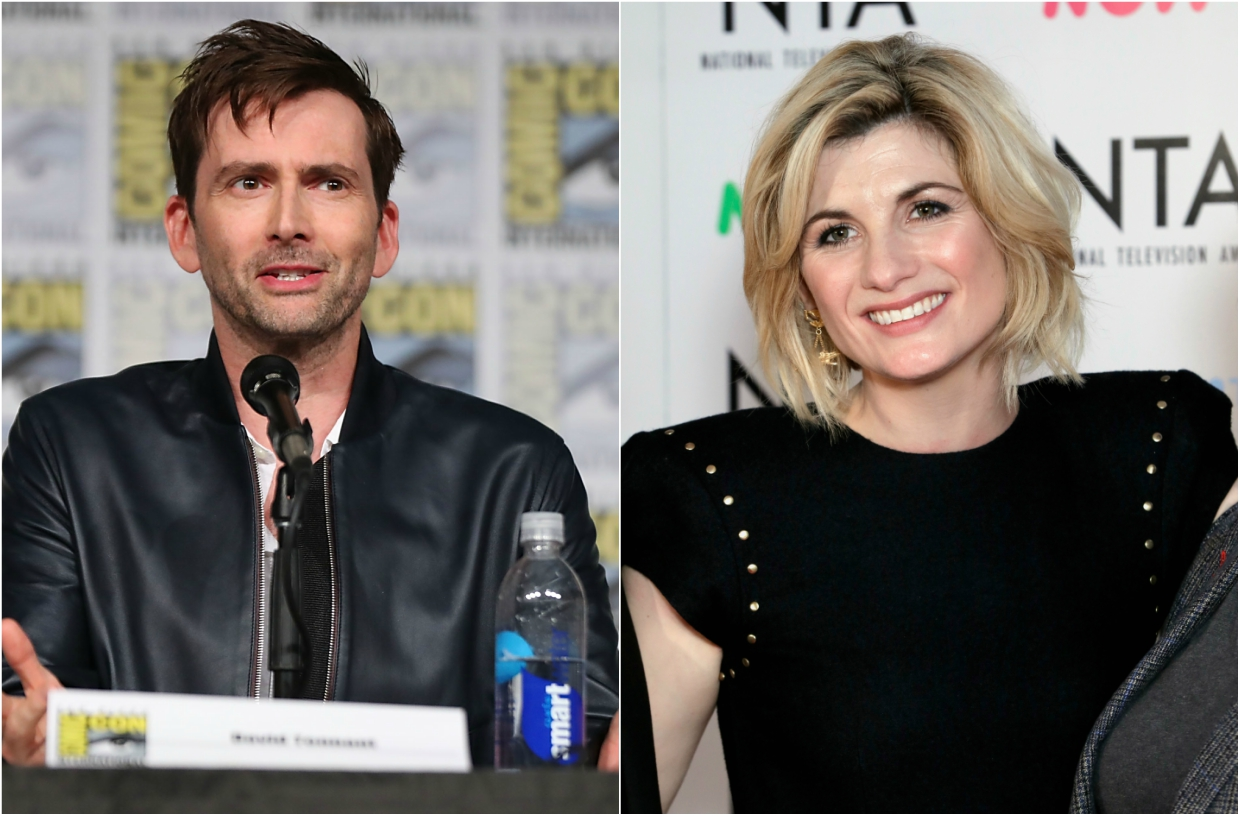David Tennant Jodie Whittaker