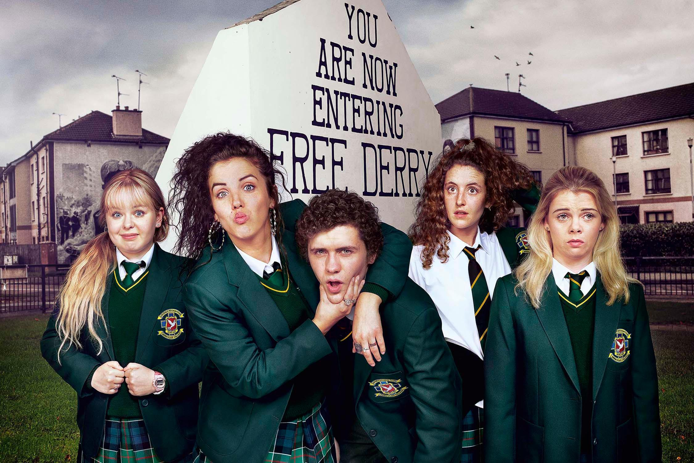 Image result for Derry Girls