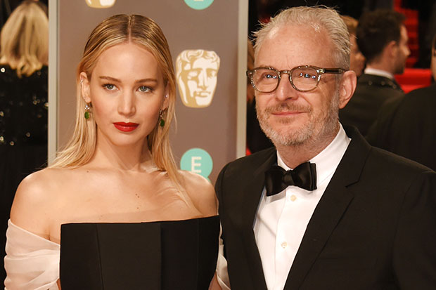 Jennifer Lawrence and Francis Lawrence Getty SL