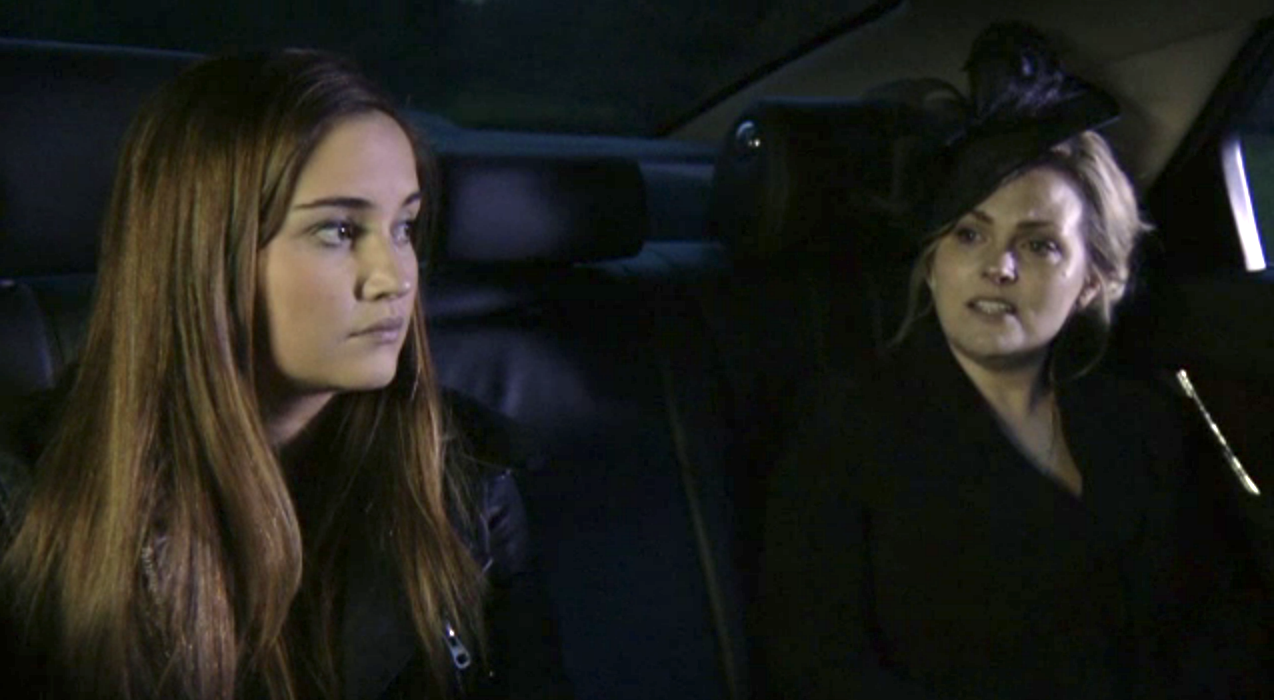 EastEnders: Abi's funeral - Lauren leaves and Tanya returns