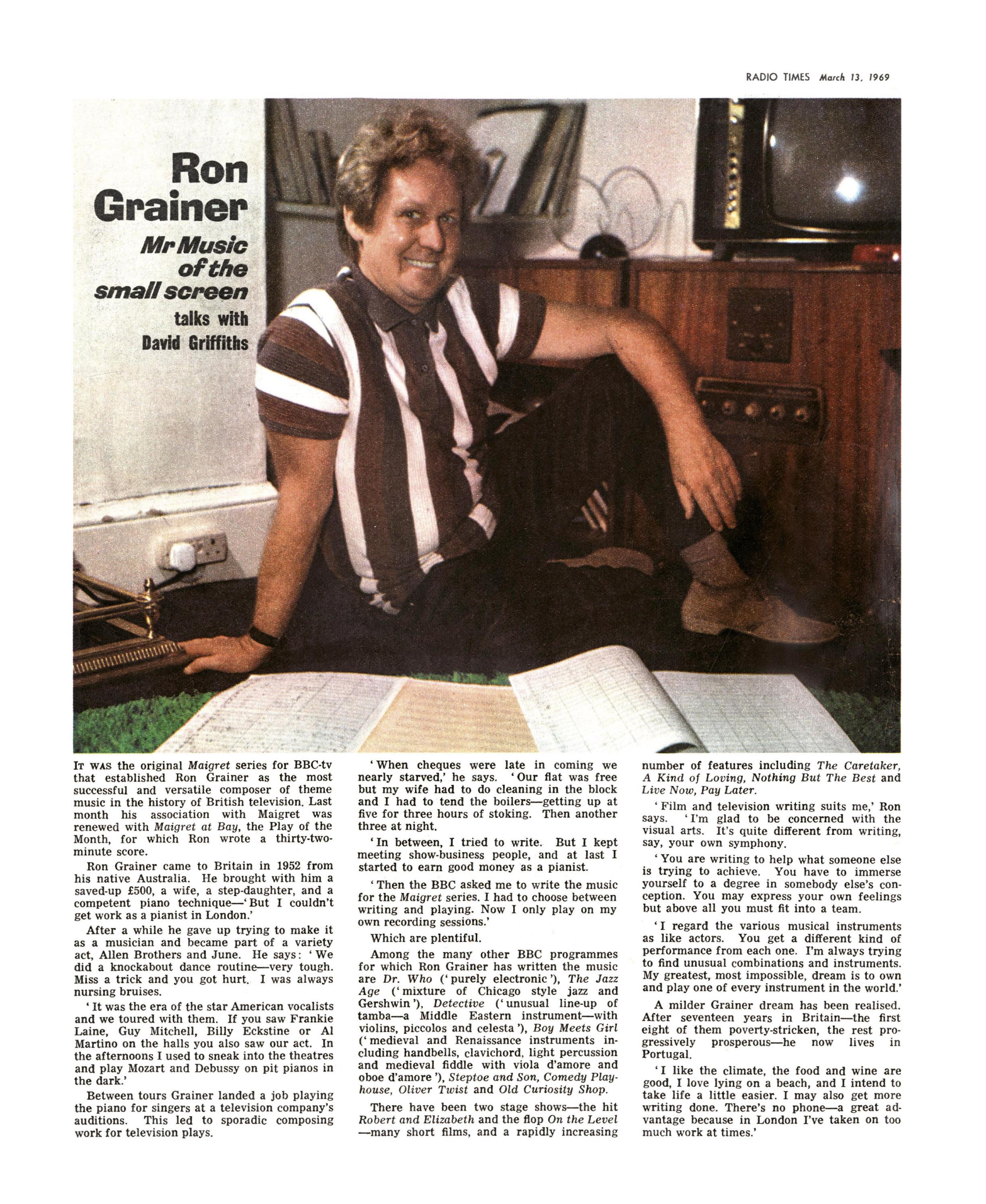 ron grainer