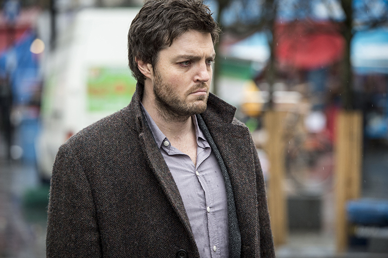Tom Burke as Cormoran Strike (BBC, HF)