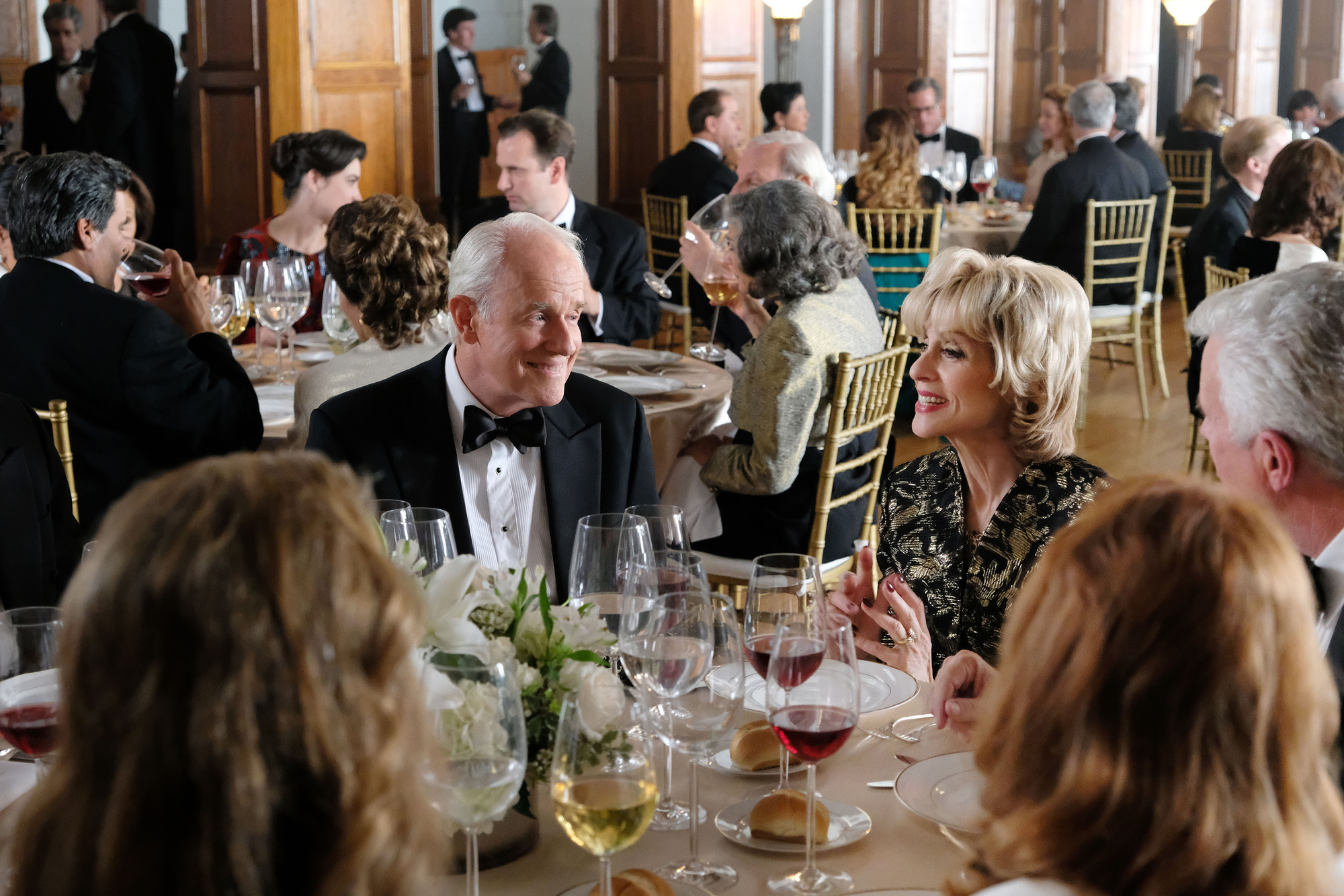 Lee (Mike Farrell) & Marilyn Miglin (Judith Light)
