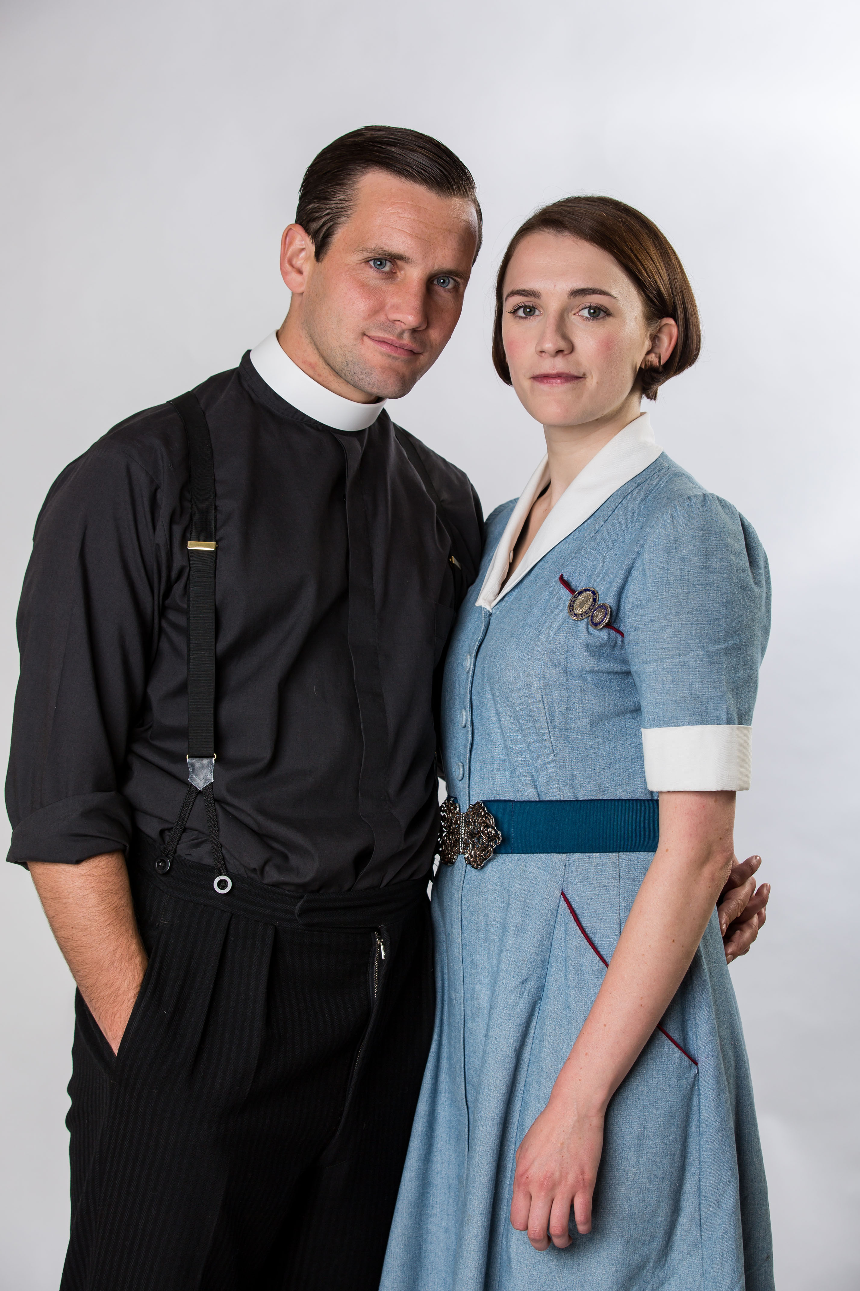 Jack Ashton and Charlotte Ritchie, Call the Midwife (BBC, EH)