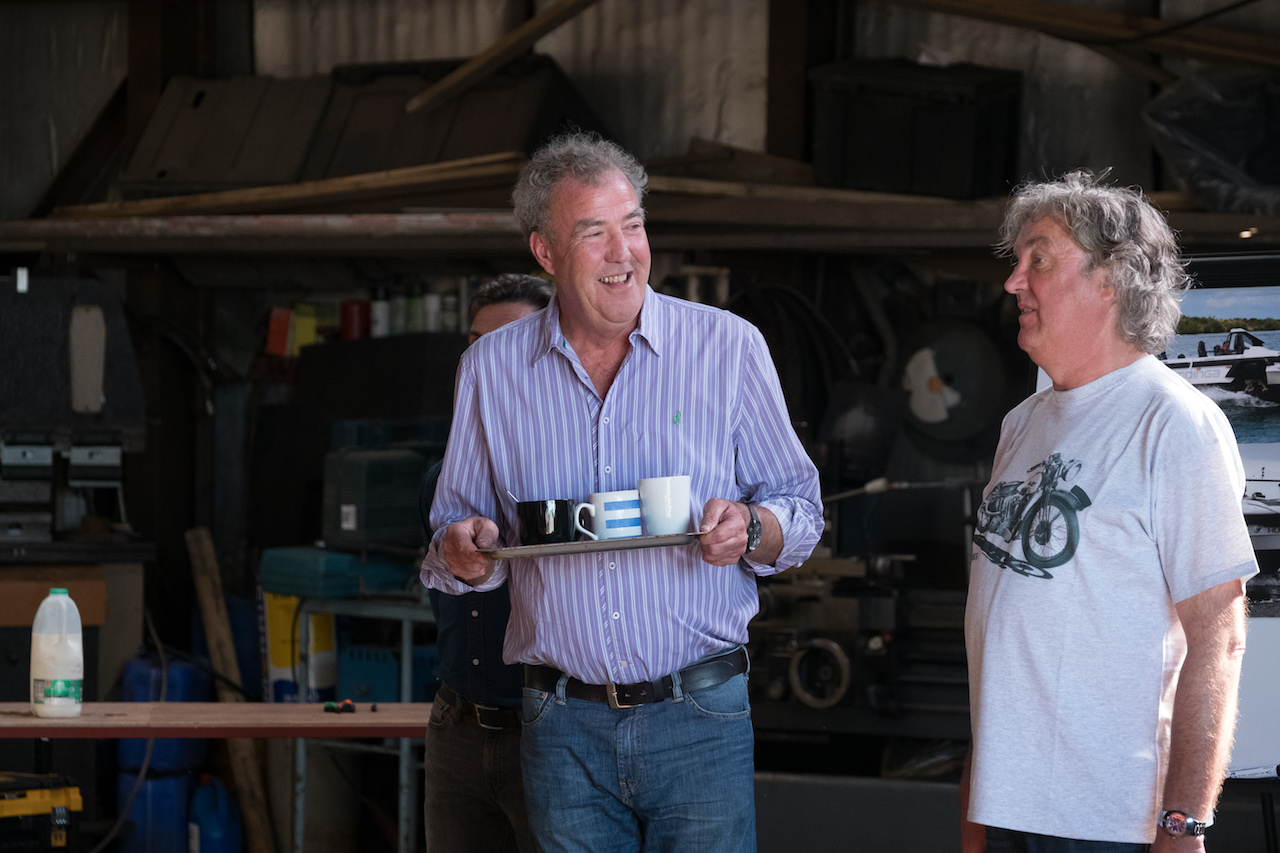 the grand tour season 3 jeremy clarkson reveals filming is already underway radio times. Black Bedroom Furniture Sets. Home Design Ideas