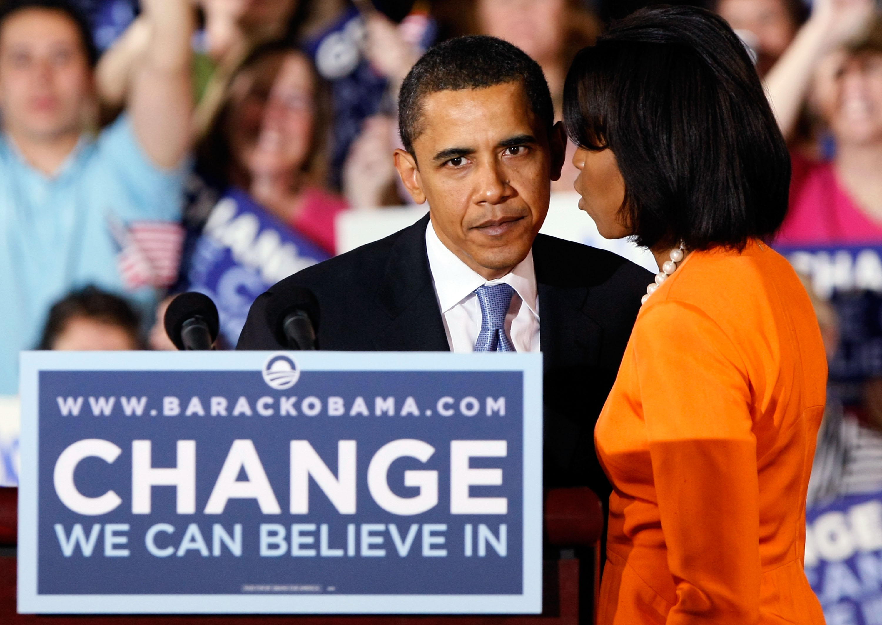 Barack and Michelle Obama (Getty, EH)