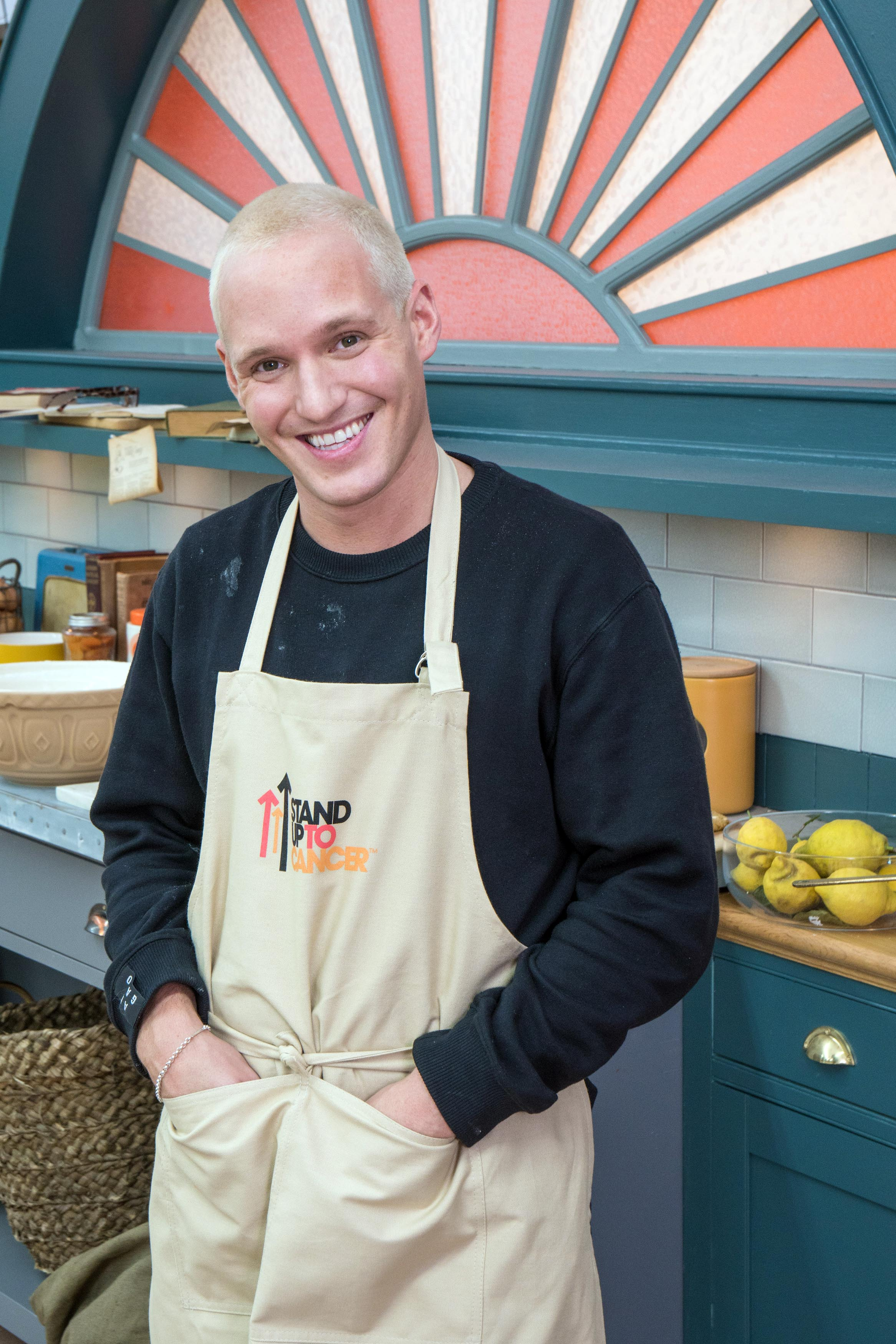 Jamie Laing, The Great British Bake Off Celebrity Special (BBC, EH)
