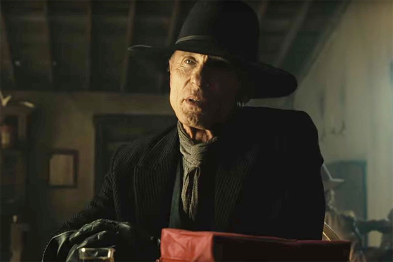 Ed Harris as William/The Man in Black in Westworld season 2