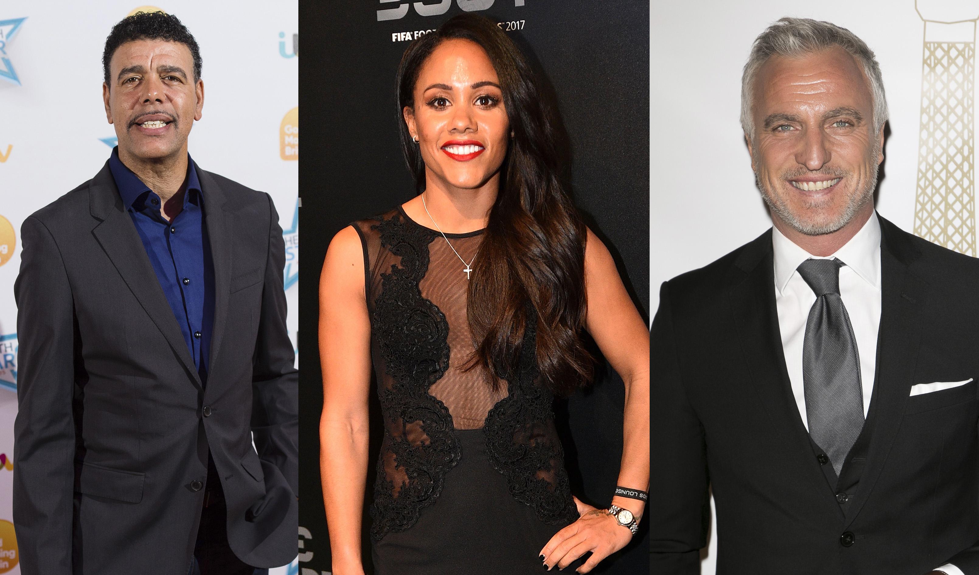 Strictly Come Dancing Sport Relief: Chris Kamara, Alex Scott, David Ginola