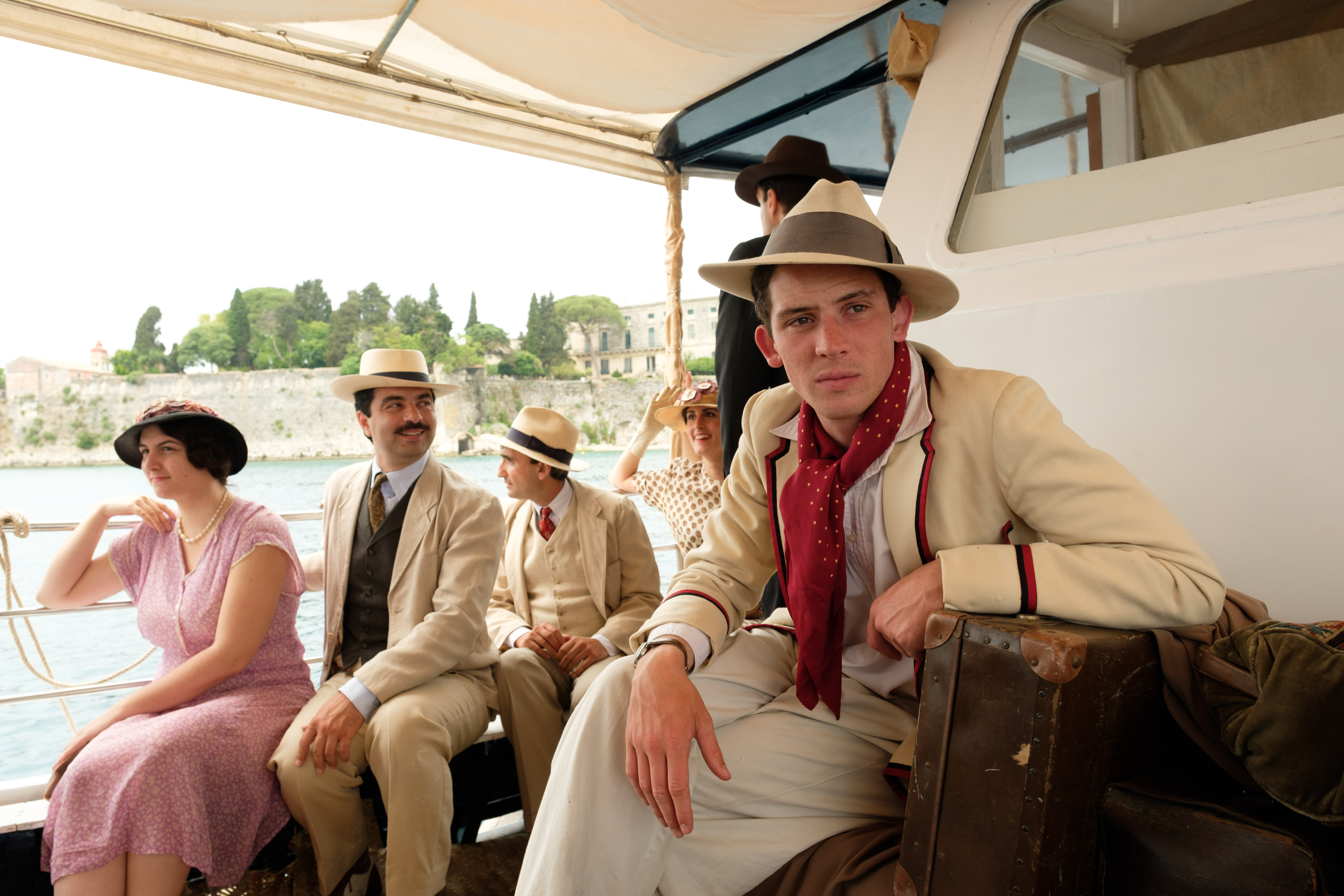 on to Lawrence and go ITV:  Mrs Durrell The Durrells Did