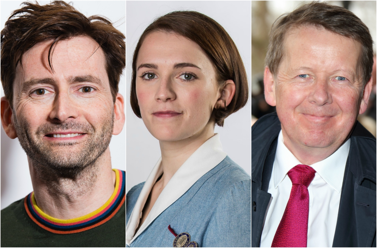 David Tennant, Charlotte Ritchie, Bill Turnbull