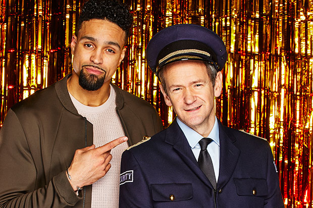 Ashley Banjo and Alexander Armstrong, ITV Pictures, SL