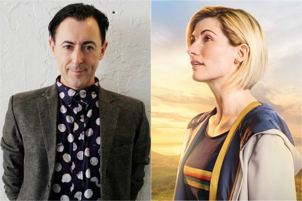 Alan Cumming and Jodie Whittaker (Getty, BBC, HF)