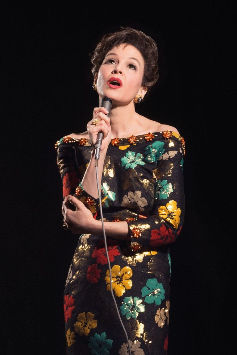 Renée Zellweger as Judy Garland (premier comms, EH)