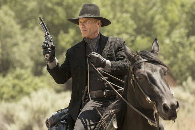 Ed Harris as The Man in Black in Westworld (Sky, HF)