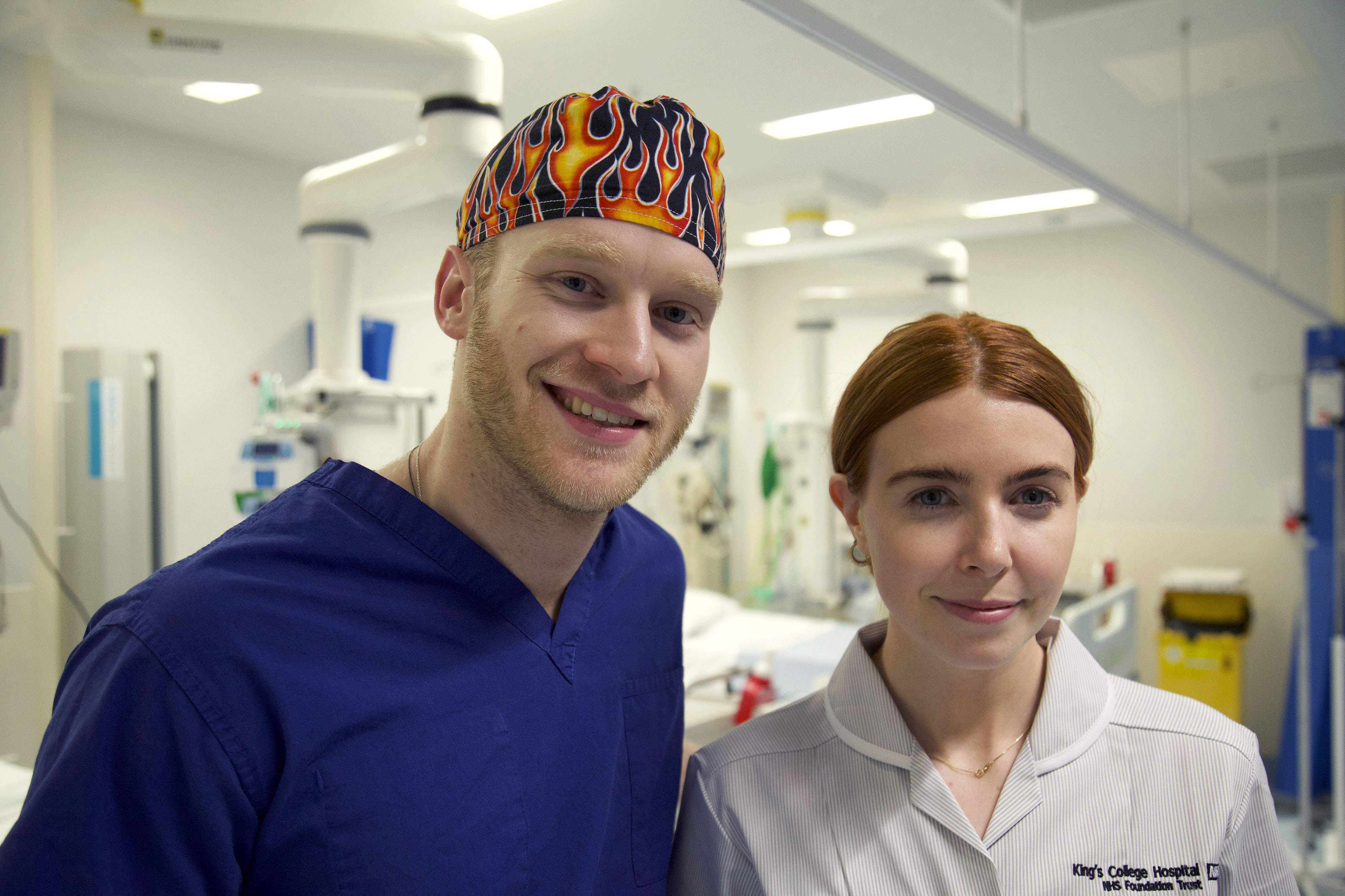 Jonnie Peacock and Stacey Dooley, Life on the Ward (BBC, EH)