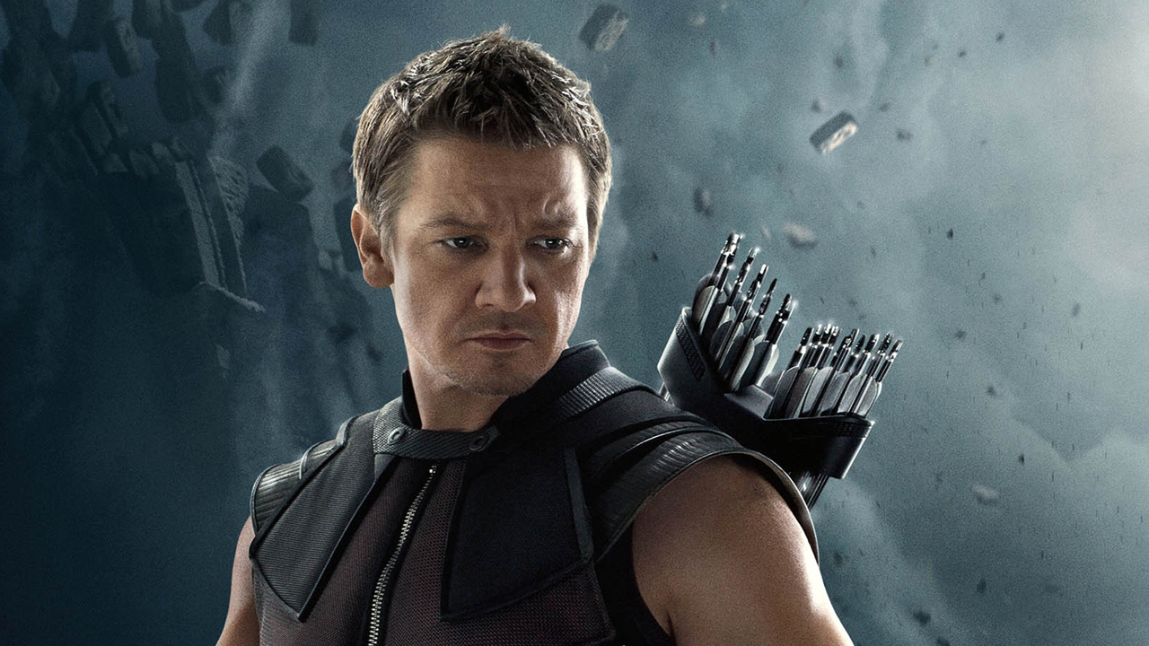 Jeremy Renner as Hawkeye (Marvel, HF)