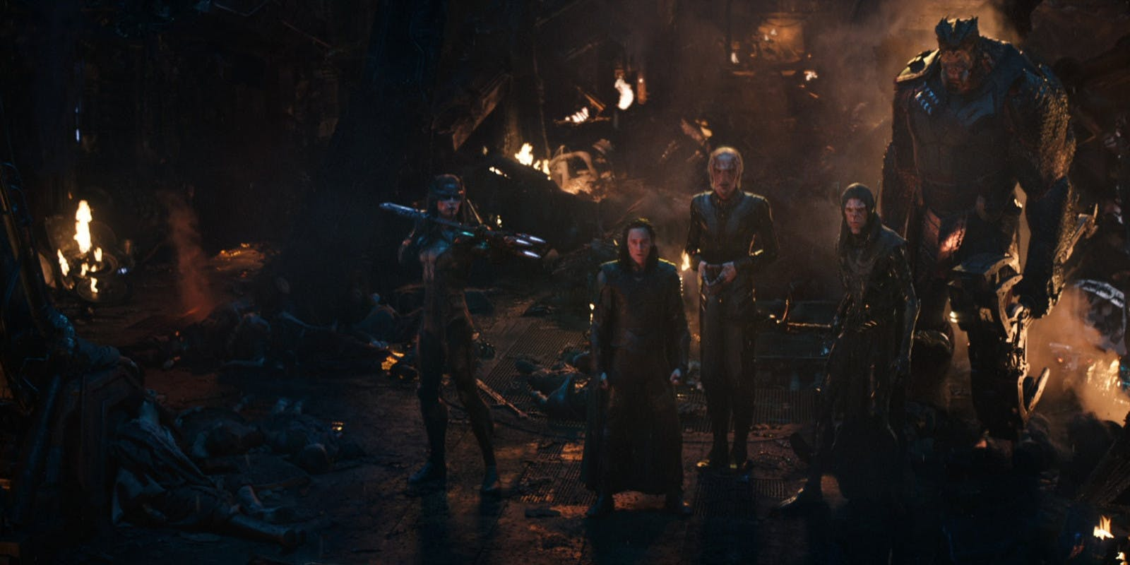 The Black Order in Avengers: Infinity War (Marvel, HF)
