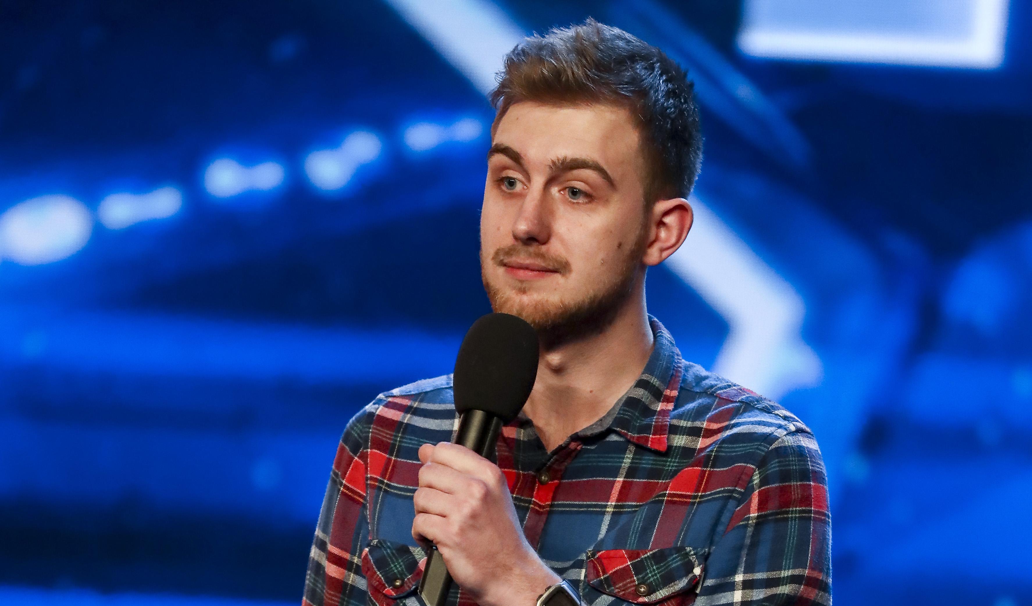 Martin Westgate on Britain's Got Talent