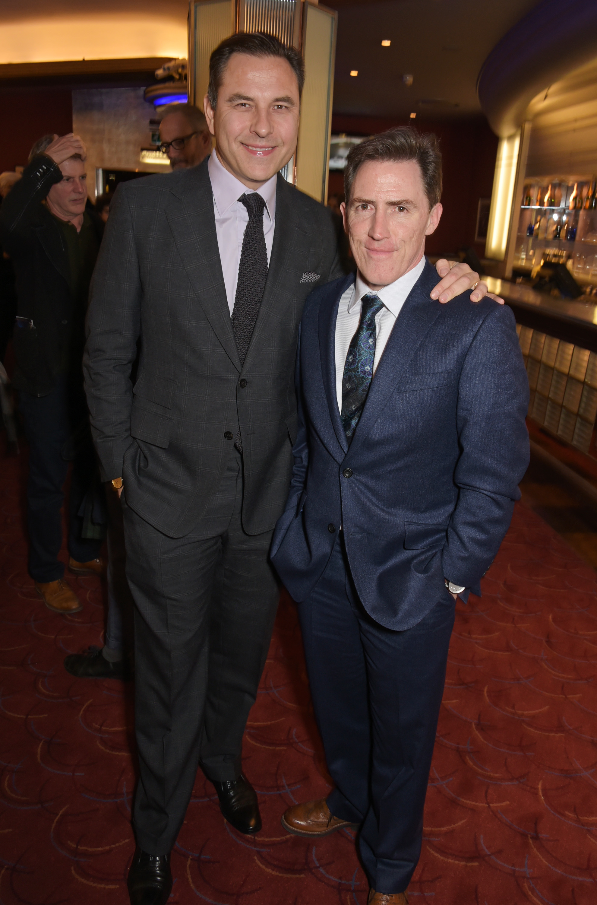 David Walliams and Rob Brydon (Getty, EH)