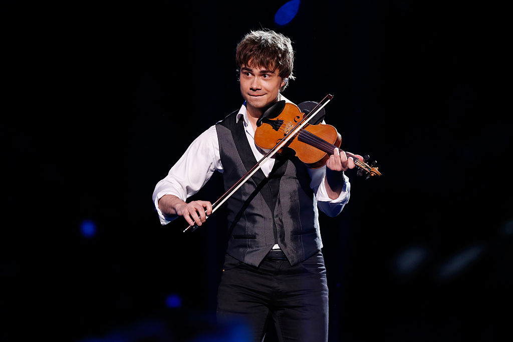 STOCKHOLM, SWEDEN - MAY 14:  Former Eurovision Song Contest winner Alexander Rybak performs at the Ericsson Globe on May 14, 2016 in Stockholm, Sweden.  (Photo by Michael Campanella/Getty Images)