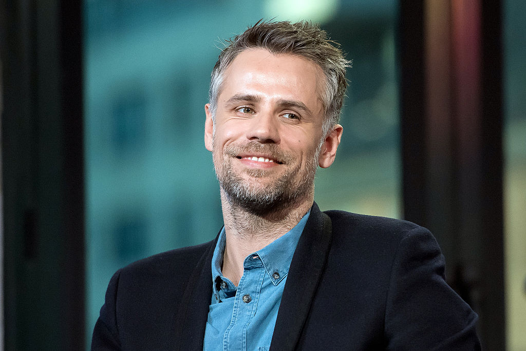 "NEW YORK, NY - NOVEMBER 28:  Richard Bacon attends the Build Series to discuss ""Explorer"" at AOL HQ on November 28, 2016 in New York City.  (Photo by Mike Pont/WireImage)"
