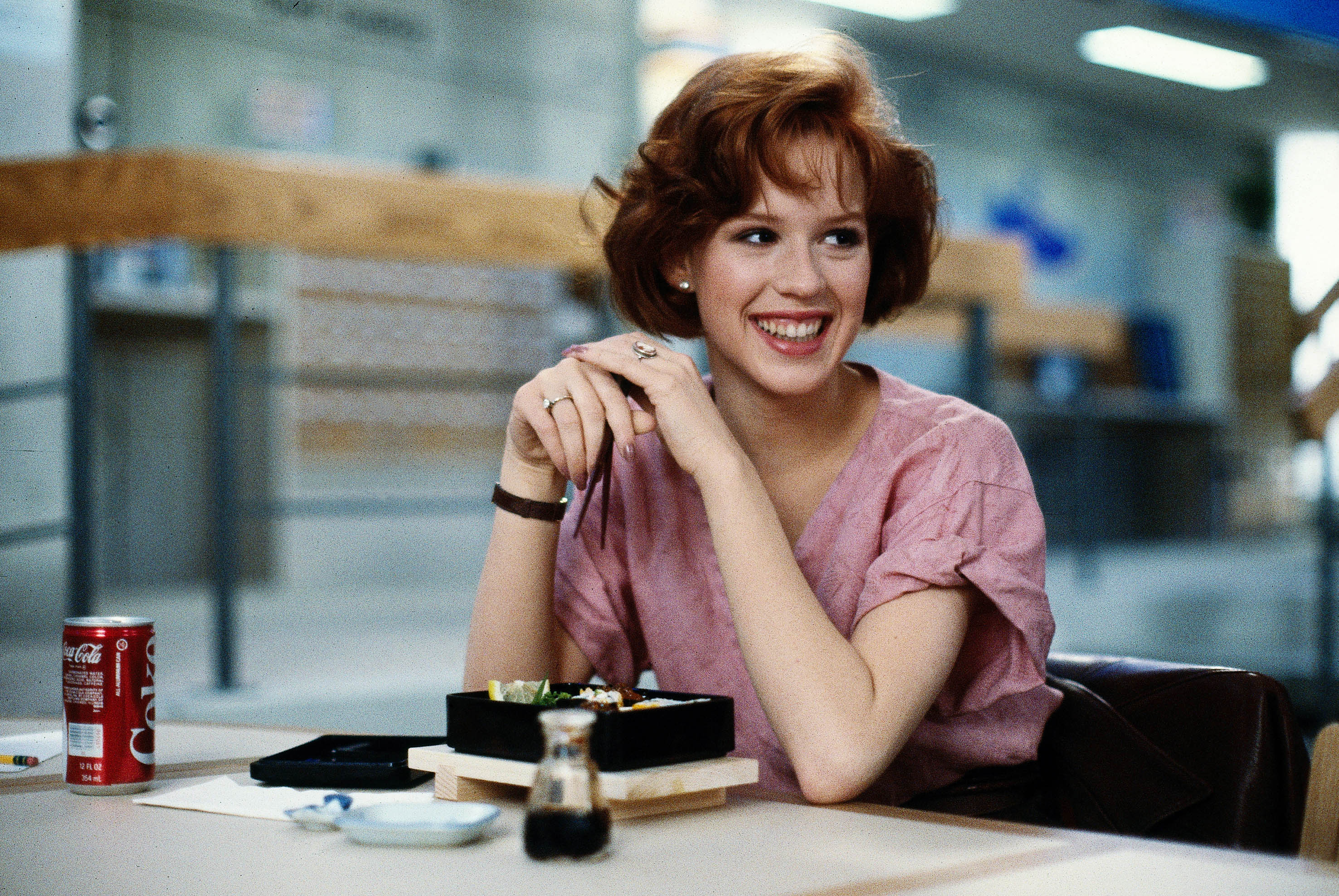 Molly Ringwald, The Breakfast Club (Sky, EH)