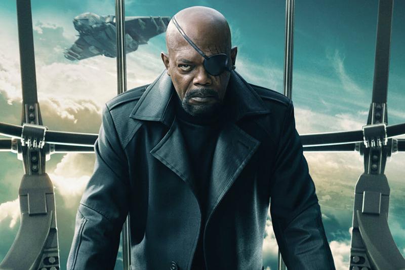 Samuel L Jackson as Nick Fury (Marvel, HF)