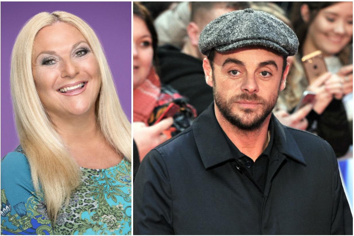 Vanessa Feltz and Ant McPartlin (Getty, EH)