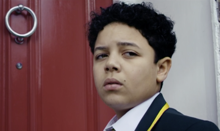 Asher Flowers as Edward, Marcella (ITV screenshot, EH)