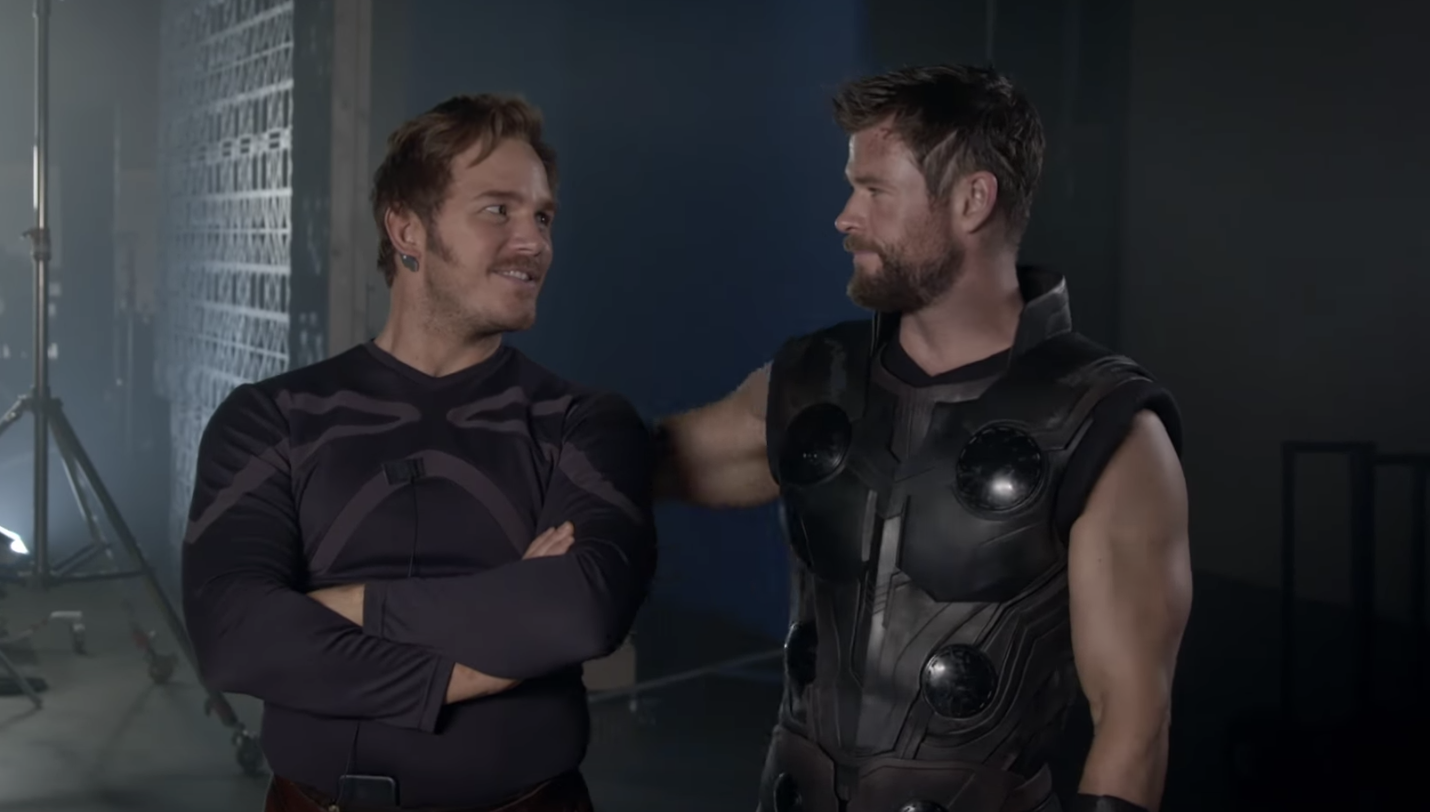 New Avengers: Infinity War behind the scenes footage contains some very  intriguing team-ups