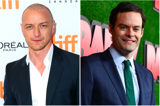 James McAvoy, Bill Hader (Getty, EH)