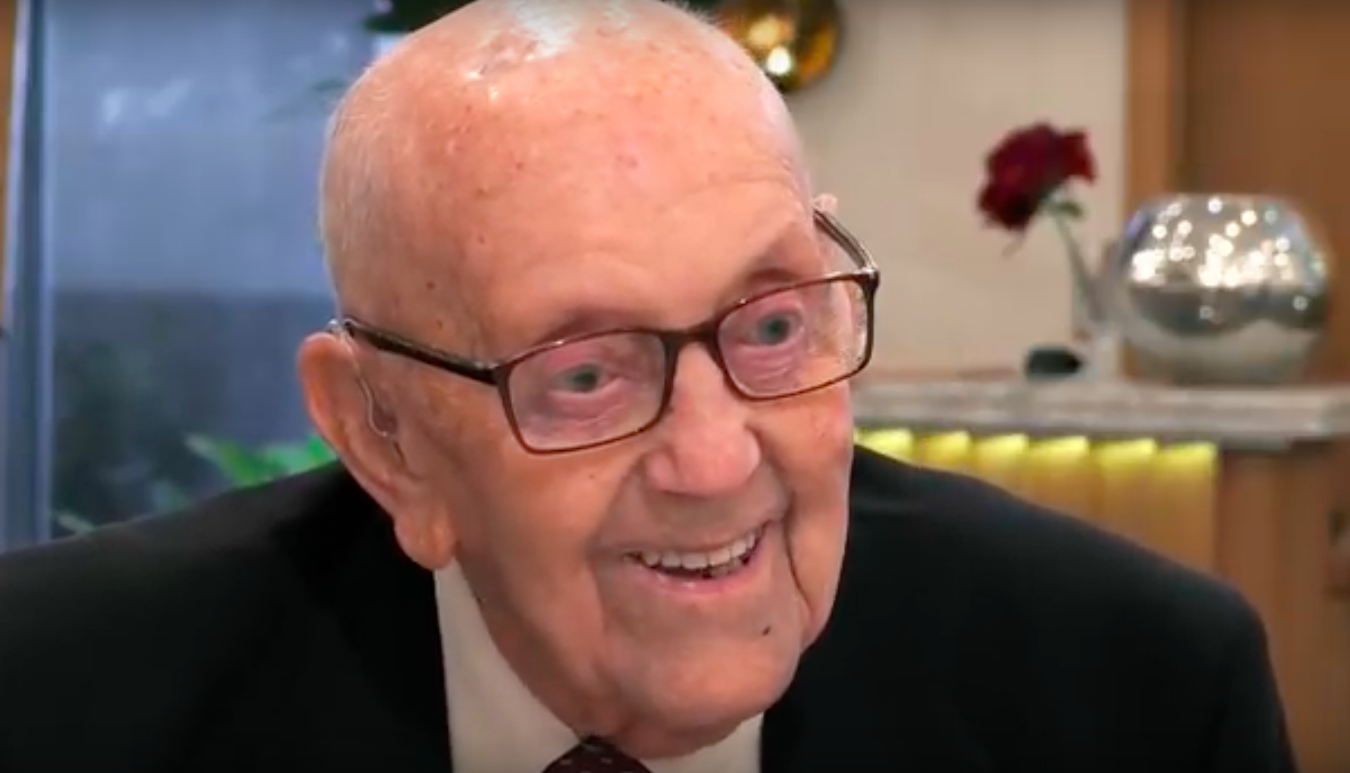 First Dates - 97 year old Richard